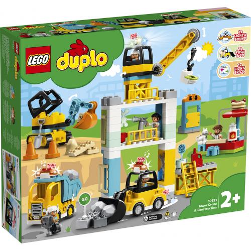 LEGO® DUPLO 10933 -  Stavba s věžovým jeřábem - Cena : 2530,- Kč s dph