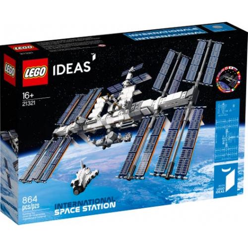 LEGO® Ideas 21321 - Mezinárodní vesmírná stanice - Cena : 1429,- Kč s dph