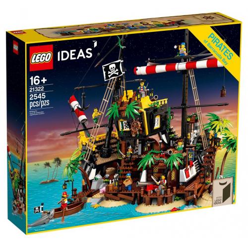 LEGO® Ideas 21322 - Pirates of Barracuda Bay - Cena : 5049,- Kč s dph