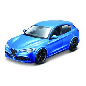 Bburago 1:24 Plus Alfa Romeo Stelvio Blue - Cena : 439,- Kč s dph