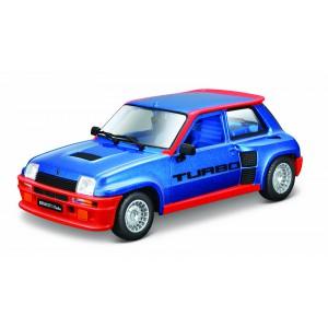 Bburago 1:24 Plus Renault 5 Turbo modré - Cena : 439,- Kč s dph