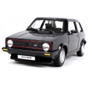 Bburago 1:24 Plus Volkswagen Golf MK1 GTI Black - Cena : 439,- Kč s dph