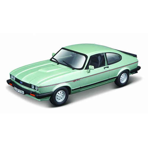 Bburago 1:24 Plus Ford Capri 1982 light green - Cena : 421,- Kč s dph