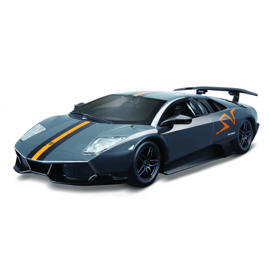 Bburago 1:24 Lamborghini MURCIELAGO LP 670-4 SV Metallic Grey - Cena : 421,- Kč s dph