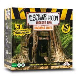 ESCAPE ROOM: úniková hra Rodinná edice - 3 scénáře - Cena : 759,- Kč s dph
