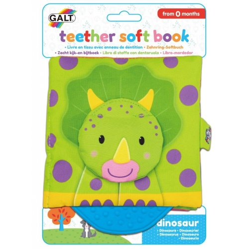 Dětská knížka s kousátkem - dinosauři - Cena : 240,- Kč s dph