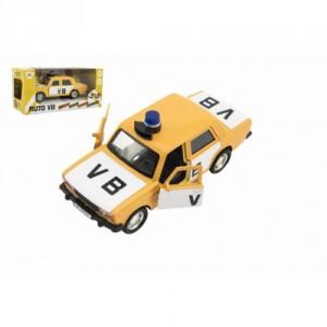 Policejní auto VB na zpětné natažení se zvukem - Cena : 149,- Kč s dph