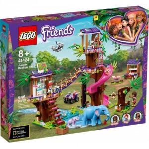 LEGO® Friends 41424 - Základna záchranářů v džungli - Cena : 1649,- Kč s dph