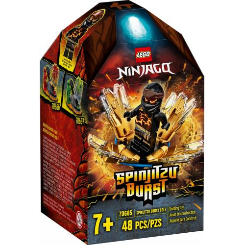 LEGO® Ninjago 70685 - Spinjitzu úder - Cole - Cena : 252,- Kč s dph