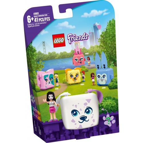 LEGO® Friends 41663 -  Emma a její dalmatinský boxík - Cena : 229,- Kč s dph
