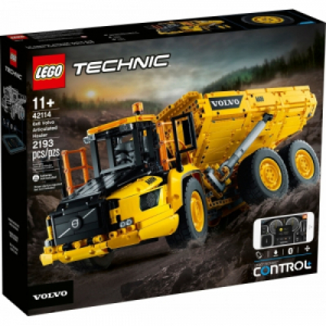 LEGO® Technic 42114 - Kloubový dampr Volvo 6x6 - Cena : 5079,- Kč s dph