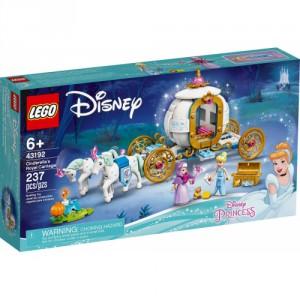 LEGO® Disney Princess 43192 - Popelka a královský kočár - Cena : 799,- Kč s dph