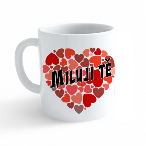 Hrnek Valentýn - Miluji Tě #4 - Cena : 99,- Kč s dph