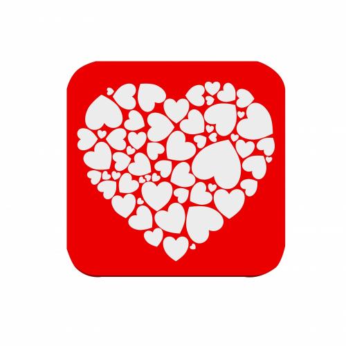 Podtácek Valentýn #1 - Cena : 29,- Kč s dph