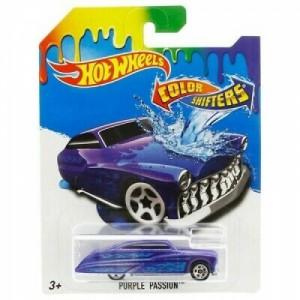 Hot Wheels angličák color shifters - Purple Passion BHR52 - Cena : 149,- Kč s dph