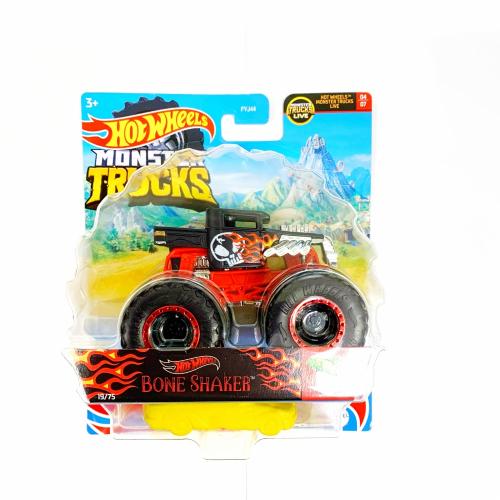 Hot Wheels Monster trucks Bone Shaker GWK02 - Cena : 149,- Kč s dph