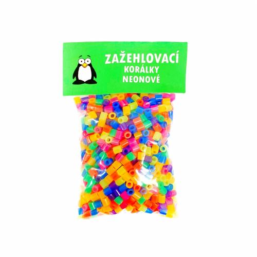 Zažehlovací korálky 1000ks - neonové - Cena : 49,- Kč s dph