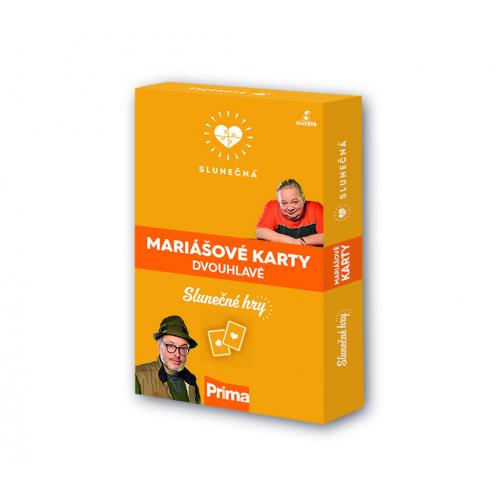 Slunečná - Mariášové karty dvouhlavé - Cena : 69.9,- Kč s dph