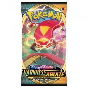 Pokémon TCG: SWSH03 Darkness Ablaze - Booster - Cena : 97,- Kč s dph