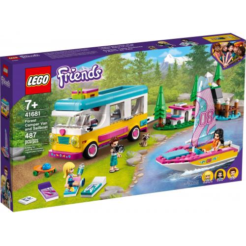 LEGO® Friends 41681 - Kempování v lese - Cena : 909,- Kč s dph
