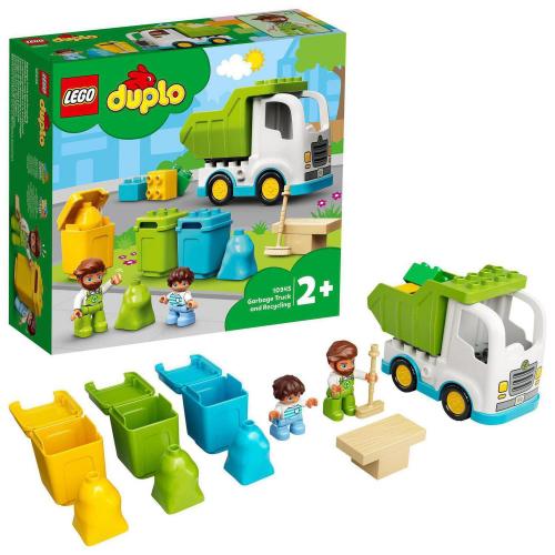 LEGO® DUPLO Town 10945 - Popelářský vůz a recyklování - Cena : 377,- Kč s dph