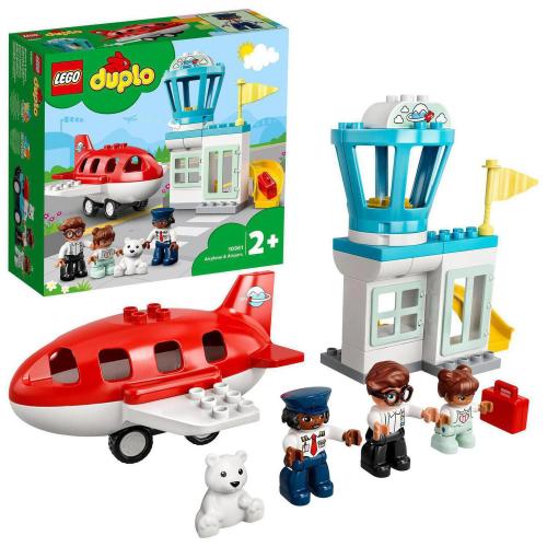 LEGO® DUPLO Town 10961 - Letadlo a letiště - Cena : 589,- Kč s dph
