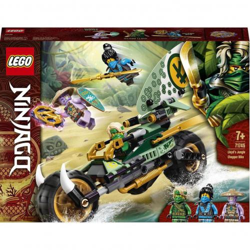 LEGO® Ninjago 71745 - Lloydova motorka do džungle - Cena : 299,- Kč s dph