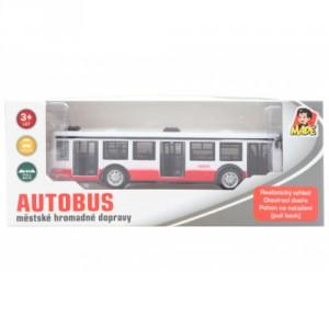 Autobus kovový na zpětný chod - Cena : 199,- Kč s dph