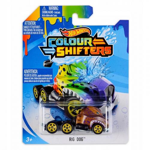 Hot Wheels angličák color shifters - Rig Dog CFM43 - Cena : 168,- Kč s dph