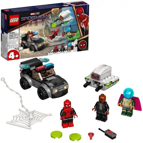 LEGO®® Marvel Spider-Man 76184 Spider-Man a Mysteriův útok dronem - Cena : 499,- Kč s dph