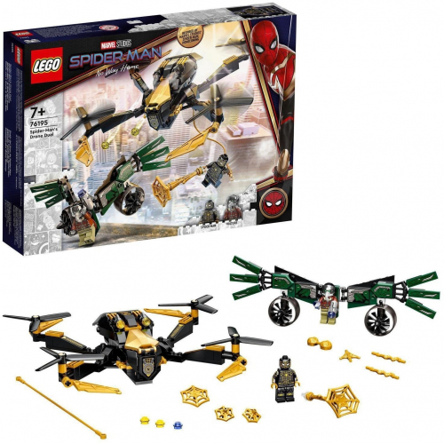LEGO®® Marvel Spider-Man 76195 - Spider-Man a duel s dronem - Cena : 499,- Kč s dph