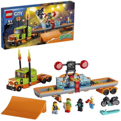 LEGO® City 60294 - Kaskadérský kamión - Cena : 1499,- Kč s dph