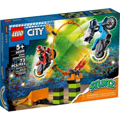 LEGO® City 60299 - Kaskadérská soutěž - Cena : 499,- Kč s dph