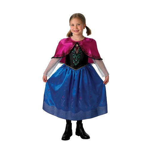 karnevalový kostým FROZEN - Ledové království ANNA DELUXE, 7-... - Cena : 505,- Kč s dph