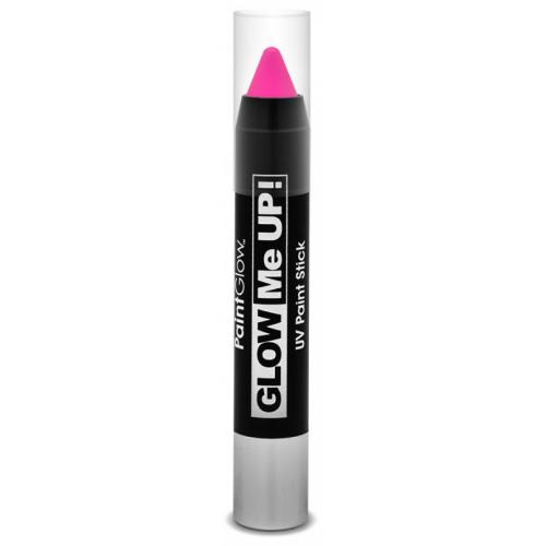 Tužka na obličej UV neon 3,5 g růžová (pink) - Cena : 73,- Kč s dph
