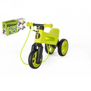 Teddies FUNNY WHEELS Rider SuperSport zelené 2v1+popruh 28/30cm - Cena : 889,- Kč s dph