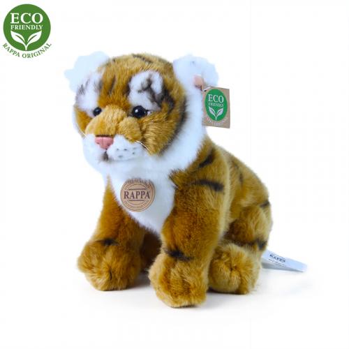 Plyšový tygr hnědý sedící 25 cm ECO-FRIENDLY - Cena : 329,- Kč s dph