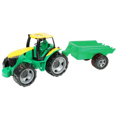 Traktor plast bez lžíce a bagru s vozíkem - Cena : 439,- Kč s dph