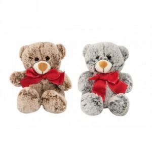 Medvěd sedící s mašlí plyš 18cm 2 barvy 0+ - Cena : 169,- Kč s dph