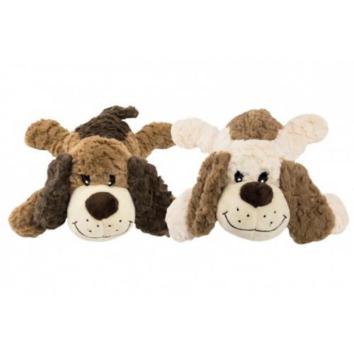 Pes ležící plyš 40cm 2 barvy 0+ - Cena : 319,- Kč s dph