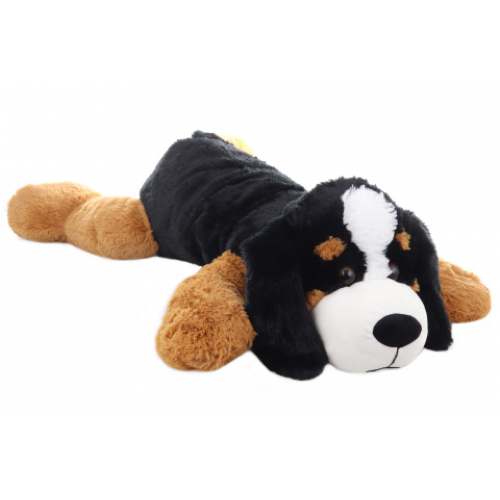 Plyš Pes ležící 100 cm - Cena : 379,- Kč s dph