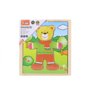 Dřevěné oblékání - medvídek - Cena : 112,- Kč s dph