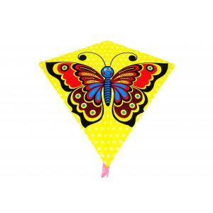Drak létající motýl plast 68x73cm - Cena : 59,- Kč s dph