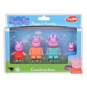 Playbig Bloxx  Peppa Pig Figurky Rodina - Cena : 201,- Kč s dph