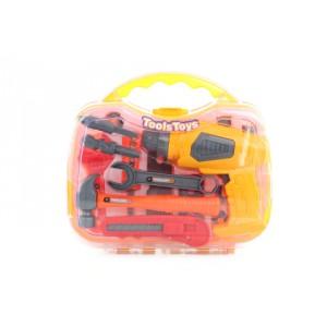 Kufrík náradia s vŕtačkou - Cena : 235,- Kč s dph