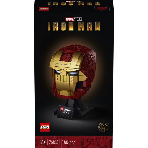 LEGO® Super Heroes 76165 - Iron Manova helma - Cena : 1552,- Kč s dph