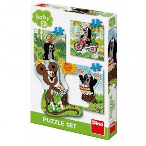 Puzzle Krtek na louce 3-5 baby puzzle - Cena : 169,- Kč s dph