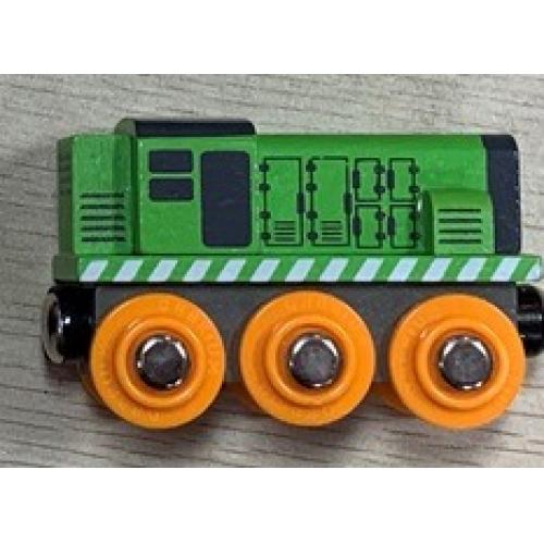 Mašinka zelená - Cena : 79,- Kč s dph