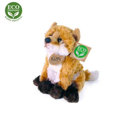 Plyšová liška sedící 15 cm ECO-FRIENDLY - Cena : 191,- Kč s dph