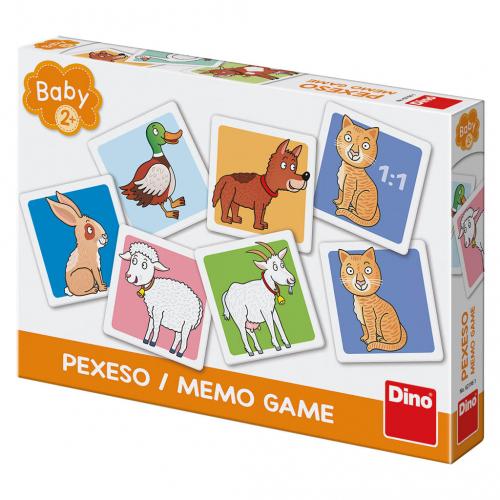 Domáce zvieratká baby pexeso - Cena : 131,- Kč s dph